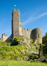 Stolpen castle saxony germany old from th century in saxonian switzerland Stock Photography