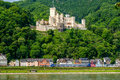 Stolzenfels Castle at Rhine Valley near Koblenz, Germany. Royalty Free Stock Photo
