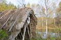 Stone Age hut Royalty Free Stock Photography
