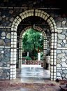 Stone Arched Passageway Royalty Free Stock Photo