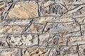 The stone wall close-up Royalty Free Stock Photo