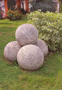 Stone balls Royalty Free Stock Photo