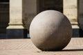 Stone in Birmingham City hall Royalty Free Stock Photo
