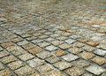 Stone block paving Stock Photography