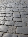 Stone block in the red square Royalty Free Stock Photo