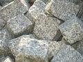 stone blocks superposed Royalty Free Stock Photo