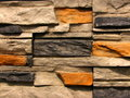 Stone Brick Wall Pattern 1 Stock Image