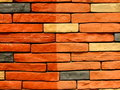 Stone Brick Wall Pattern 9 Royalty Free Stock Photos