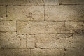 Stone brick wall tan background Stock Photos