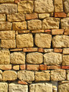 Stone and bricks background Royalty Free Stock Photo