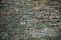 Stone bricks old wall of textured background Stock Photo