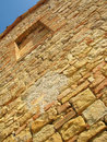 Stone and bricks wall Stock Images