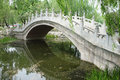 Stone bridge in beijing yuanmingyuan park Royalty Free Stock Photography