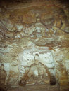 Stone carving of Yungang grottoes Royalty Free Stock Images