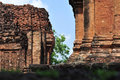Stone castle in isan of thailand is the architecture culture old