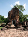 Stone castle temple in thailand Royalty Free Stock Images