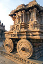 The stone chariot at Vitthala temple Royalty Free Stock Image