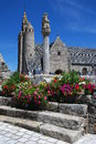 Stone church in Brittany Royalty Free Stock Image