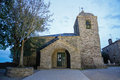Stone Church Cebreiro Royalty Free Stock Photo