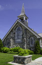 Stone Church on Mackinac Island Exterior Stock Photo