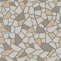Stones colored background. Seamless mosaic tracery