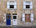 Stone Cottage Exterior Royalty Free Stock Photo