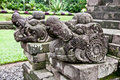 Stone craft in Candi Kidal Temple  near by Malang, east Java Stock Images