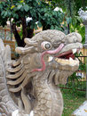 Stone dragon Royalty Free Stock Photo