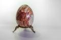 Stone egg Royalty Free Stock Photo