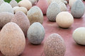 Stone eggs Royalty Free Stock Photo