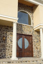 Stone Entrance Royalty Free Stock Photo