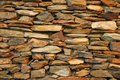 Stone Feature Wall Royalty Free Stock Photo
