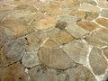 Stone-floor Royalty Free Stock Photo