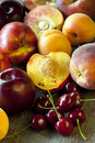 Stone Fruits Royalty Free Stock Photos