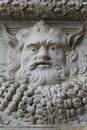 Stone gargoyle image taken in naples italy Stock Photography