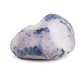 Stone gray and blue color Stock Photography