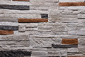 Stone grey orange wall texture background natural color Royalty Free Stock Photo