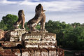 Stone Guardian at Pre Rup Stock Photography