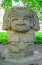 Stone idol Royalty Free Stock Photo