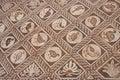 Stone inlay in Delphi,  Greece Stock Photos