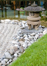 A stone lantern Royalty Free Stock Photos