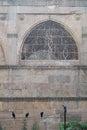Stone latticework in an Ahmedabad mosque, India