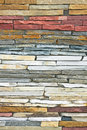 Stone layers Royalty Free Stock Photos