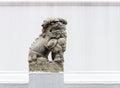 Stone Lion Statue In The Tradi...