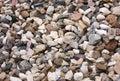 Stone macadam Royalty Free Stock Photos