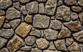 Stone masonry abstract background from a Royalty Free Stock Image