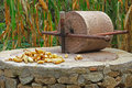 Stone mill Stock Images