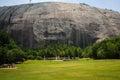 Stone Mountain Historical Monument in Atlanta Georgia USA Royalty Free Stock Photo
