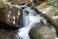 Stone Mountain State Park Stream Royalty Free Stock Photo