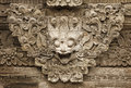 Stone mythical creature decoration of bali templ the the temple in Stock Photos